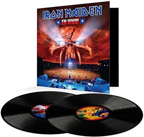 Iron Maiden -  En Vivo - 2 Lps  Importados  - Billbox Records