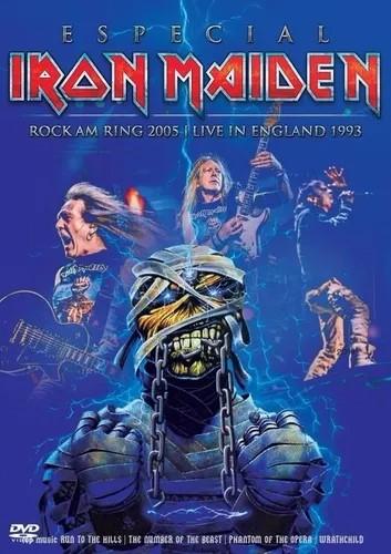IRON MAIDEN ESPECIAL ROCK AM RING 2005 - LIVE IN ENGLAND 1993 DVD+CD NACIONAL  - Billbox Records