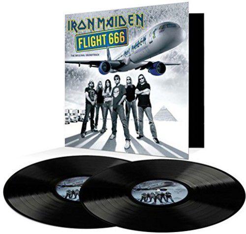 Iron Maiden - Flight 666 - 2 Lps  Importados  - Billbox Records