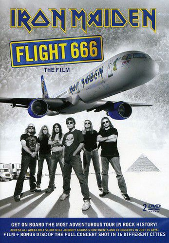 Iron Maiden - Flight 666 - Dvd Importado  - Billbox Records