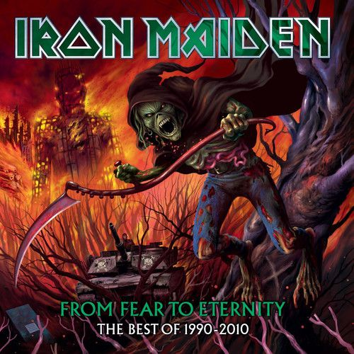 Iron Maiden From Fear to Eternity The Best of 1990-10- 3 Lps Picture Importados  - Billbox Records