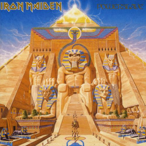Iron Maiden - Powerslave - Cd Importado  - Billbox Records