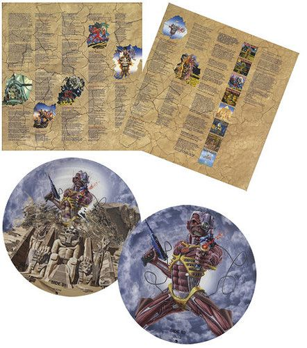 Iron Maiden - Somewhere Back in Time - 2 Lps Picture Importados  - Billbox Records