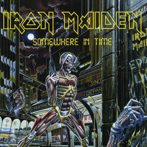 Iron Maiden - Somewhere In Time - Cd Importado  - Billbox Records