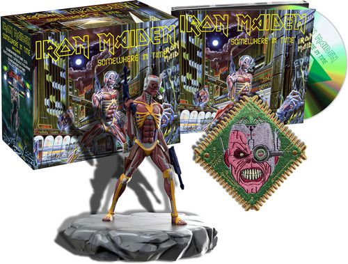 Iron Maiden - Somewhere In Time (Deluxe Edition) - 2 Cds Importados  - Billbox Records
