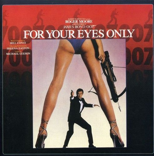 James Bond - 007 - For Your Eyes Only - Cd Importado  - Billbox Records