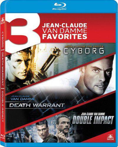 Jean-Claude Van Damme Favorites: Cyborg / Death Warrant / Double Impact - Blu ray Importado  - Billbox Records