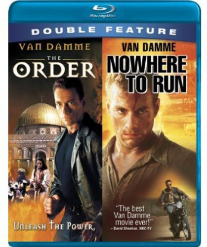 Jean-Claude Van Damme The Order / Nowhere to Run - Blu ray Importado  - Billbox Records