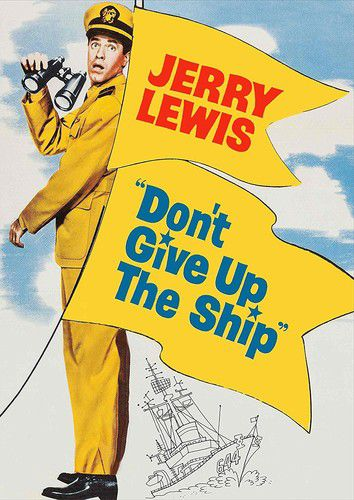 Jerry Lewis - Dont Give Up The Ship - Dvd Importado  - Billbox Records