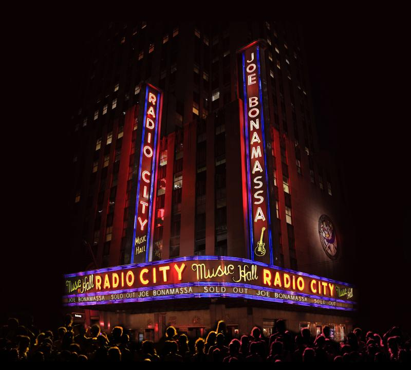 Joe Bonamassa - Live at Radio City Music Hall Cd+Blu-Ray  - Billbox Records