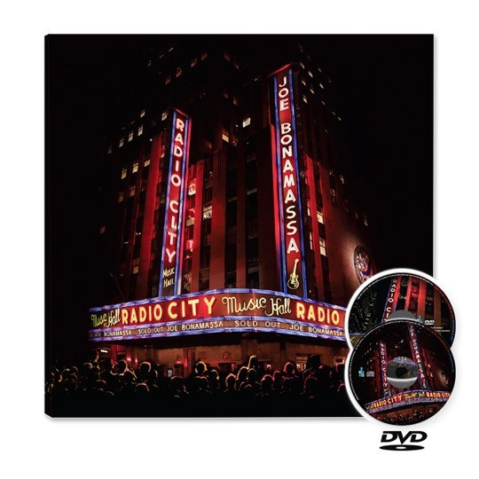 Joe Bonamassa - Live at Radio City Music Hall Cd+Dvd  - Billbox Records