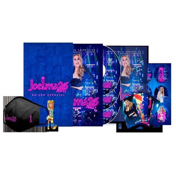 Joelma 25 Anos - Kit Premium Voando Pro Pará - 2 Cds + Dvd Nacional  - Billbox Records