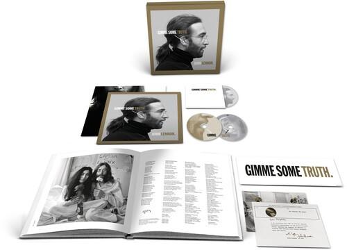 John Lennon Gimme Some Truth -2 Cds + Blu Ray Importados  - Billbox Records