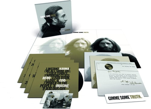John Lennon Gimme Some Truth Vinyl 180 Gramas - 4 Lps Importados  - Billbox Records