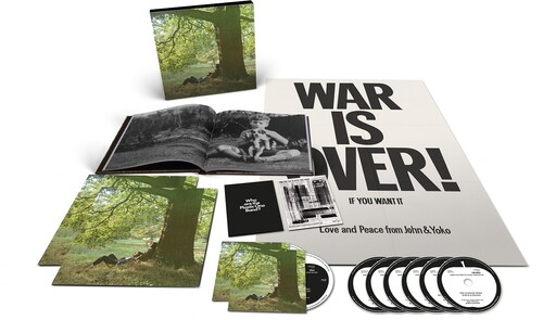 John Lennon Plastic Ono Band The Ultimate Collection- Box 6 Cds / 2 Blu-ray Importados  - Billbox Records