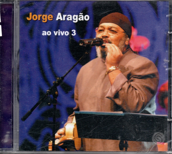 Jorge Aragão Ao Vivo 3 - Cd Nacional  - Billbox Records