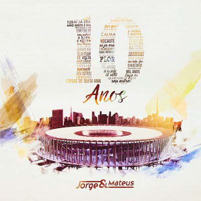Jorge & Mateus - 10 Anos - Cd Nacional  - Billbox Records