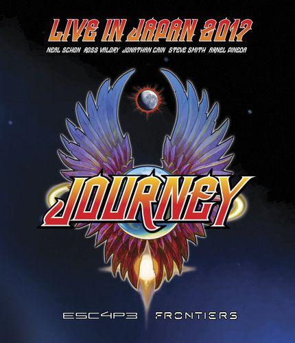 Journey - Live In Japan 2017: Escape + Frontiers - Blu Ray Importado  - Billbox Records