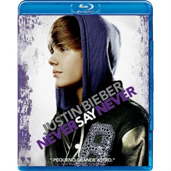 Justin Bieber - Never Say Never - Blu ray Nacional  - Billbox Records