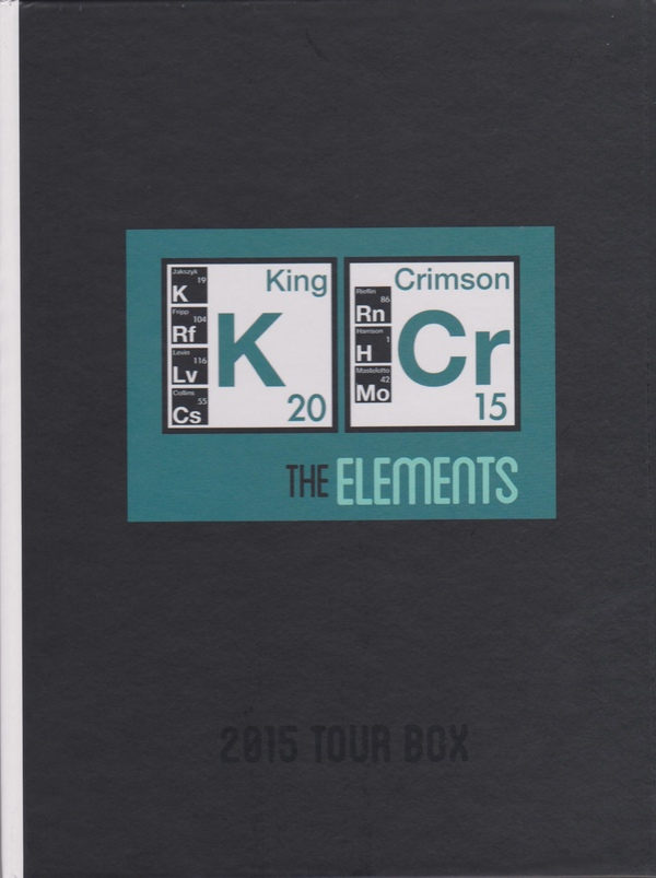 King Crimson / Elements Tour Box 2015  - Billbox Records