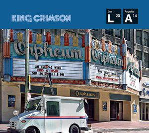 King Crimson - Live At The Orpheum Cd+Dvd  - Billbox Records