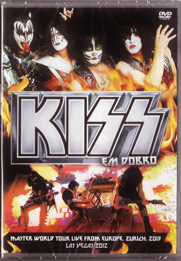 KISS EM DOBRO MASTER WORLD TOUR LIVE FROM EUROPE, ZURICH - 2013 + LAS VEGAS - 2012 DVD NACIONAL  - Billbox Records