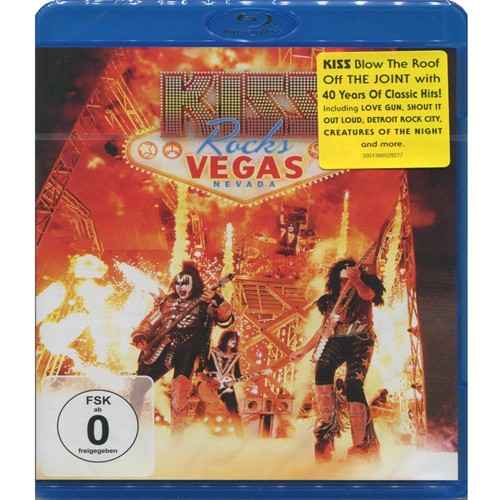 Kiss - Rocks Vegas  - Blu ray Importado - Billbox Records