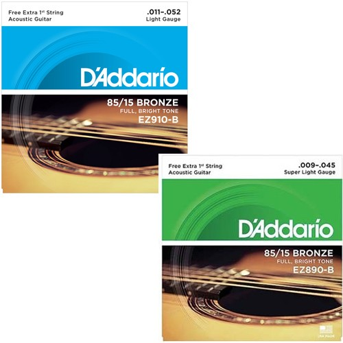 Kit Cordas Para Violão Guitarra Daddario   - Billbox Records