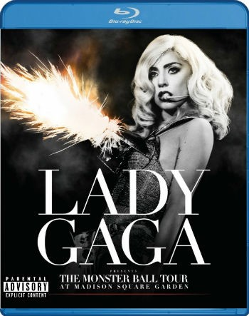 Lady Gaga-Monster Ball Tour - Blu Ray Nacional  - Billbox Records