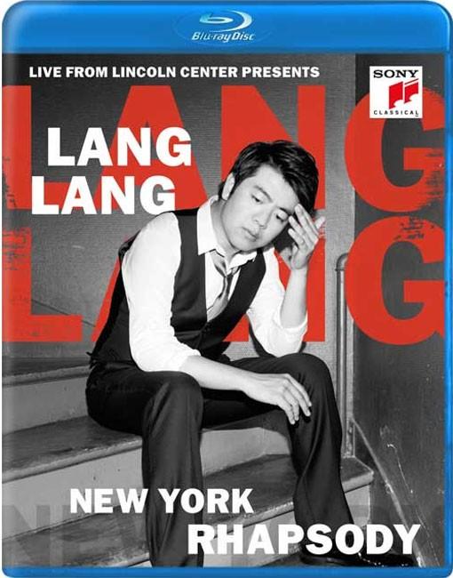 Lang Lang / Live At Lincoln Center Presents New York Rhapsody - Blu Ray Importado  - Billbox Records