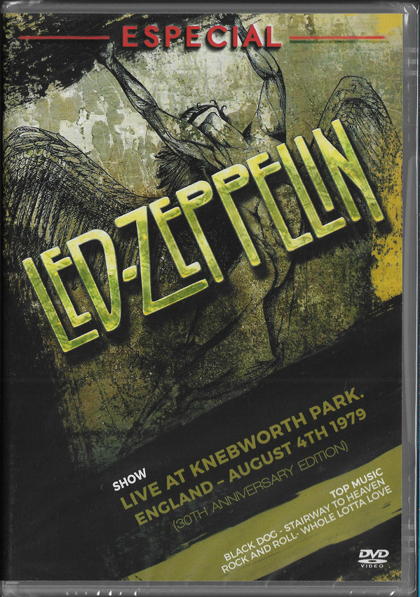 LED ZEPELLIN ESPECIAL LIVE AT KNEBWORTH PARK - ENGLAND - AUGUST 4TH 1979 - DVD NACIONAL  - Billbox Records