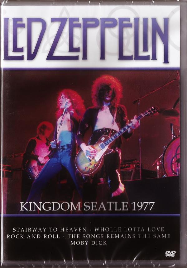 LED ZEPPELIN KINGDOM SEATLE 1977 - DVD NACIONAL  - Billbox Records