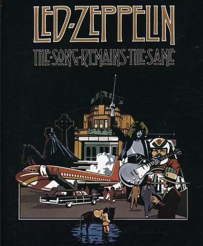 Led Zeppelin -  The Song Remains the Same - Blu ray Importado  - Billbox Records