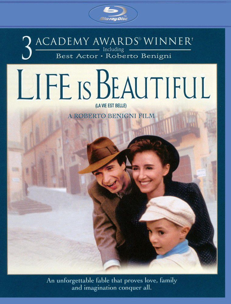 Life Is Beautiful - A Vida é Bela - Blu Ray Importado  - Billbox Records
