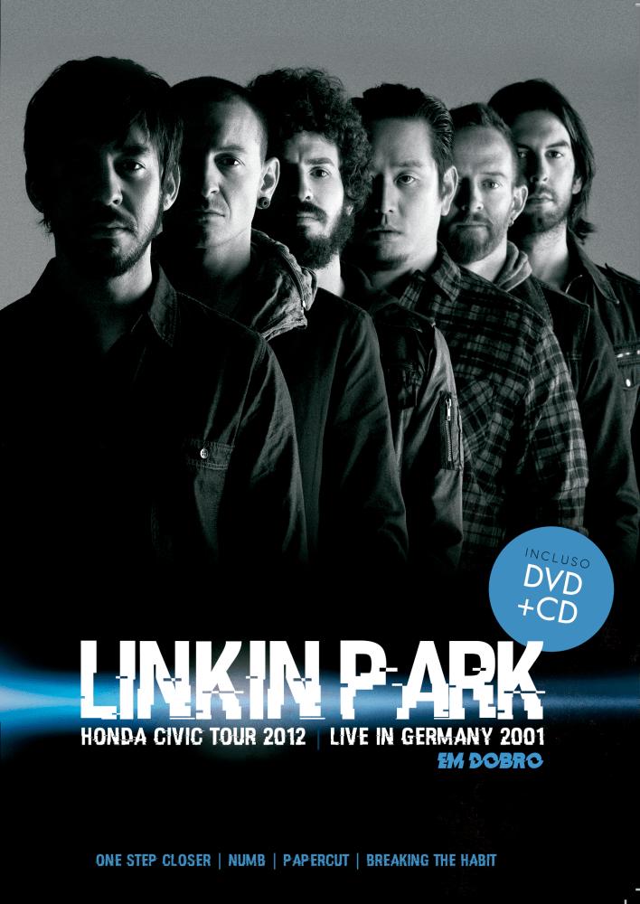 LINKIN PARK EM DOBRO HONDA CIVIC TOUR 2012 & LIVE IN WOODSTOCK 1999 CD + DVD NACIONAIS  - Billbox Records