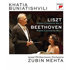 Liszt / Buniatishvili / Liszt & Beethoven: Piano Concertos - Blu-Ray Importado  - Billbox Records