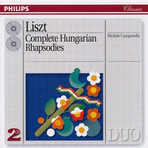 Liszt - Complete Hungarian Rhapsodies  - Billbox Records