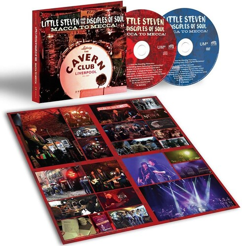 Little Steven & the Disciples of Soul Macca To Mecca! - Cd + Dvd Importado  - Billbox Records