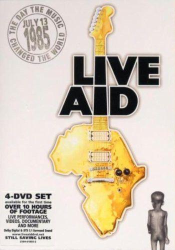 Live Aid - DVD Importado  - Billbox Records