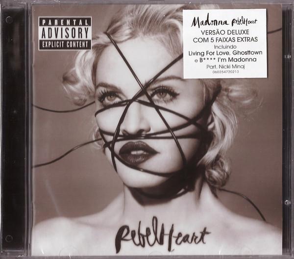Madonna Rebel Heart Deluxe Explicit Content - Cd Importado  - Billbox Records