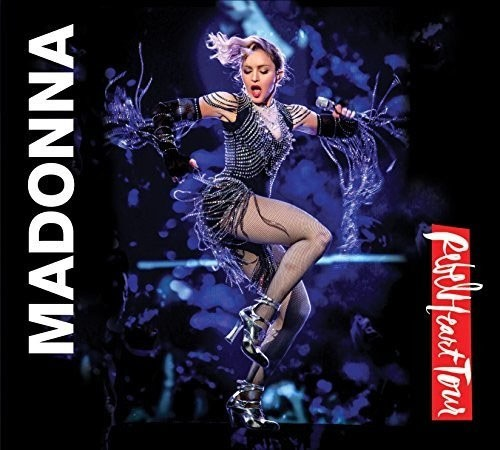 Madonna / Rebel Heart Tour - Deluxe Edition - Cd + Blu Ray Importados  - Billbox Records