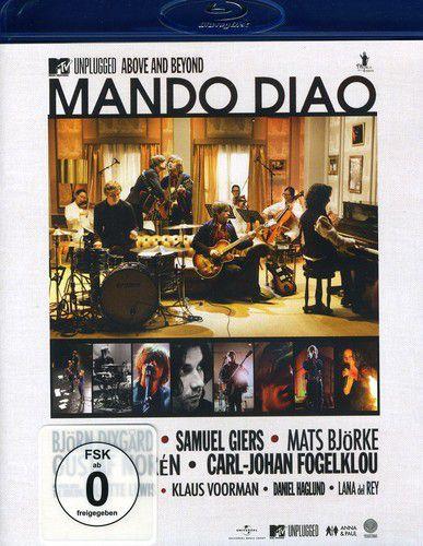 Mando Diao - MTV Unplugged-Above & Beyond - Blu ray Importado  - Billbox Records