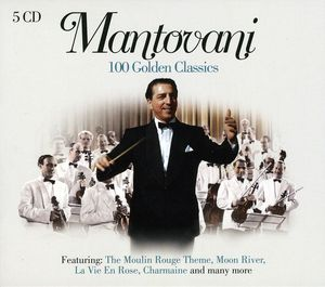 Mantovani - 100 Golden Classics  - Billbox Records