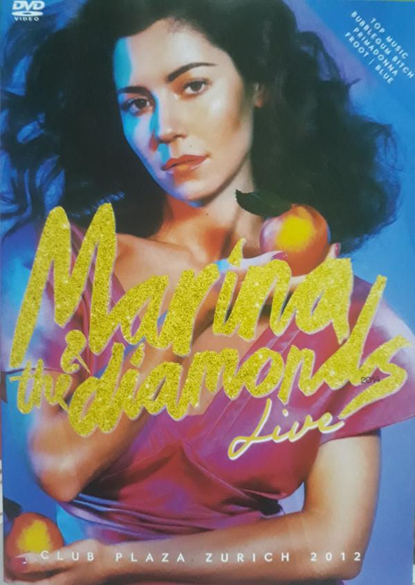 MARINA & THE DIAMONDS LIVE ZURICH 2012 DVD NACIONAL  - Billbox Records
