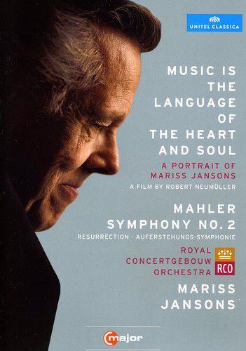 Mariss Jansons Music Is Language of Heart & Soul / Mahler Sym 2 - Dvd Importado  - Billbox Records
