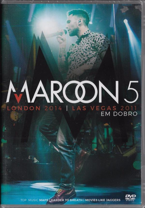 MAROON 5 EM DOBRO LONDON 2014 E LAS VEGAS 2011 DVD NACIONAL  - Billbox Records