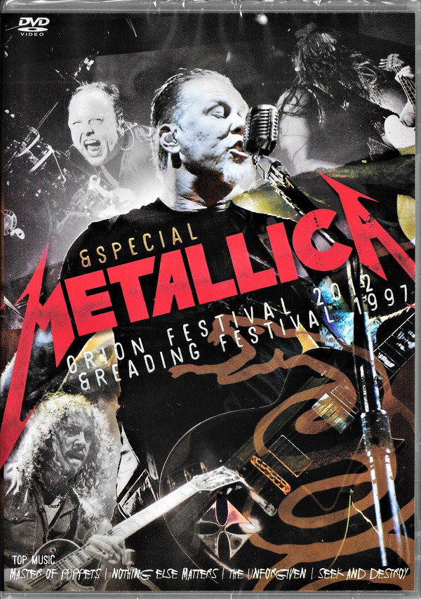 METALLICA ESPECIAL FESTIVAL ORION 2012 E READING FESTIVAL 1997 DVD NACIONAL  - Billbox Records