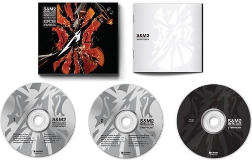 Metallica S&M2  2 Cds + Blu-ray Importados  - Billbox Records