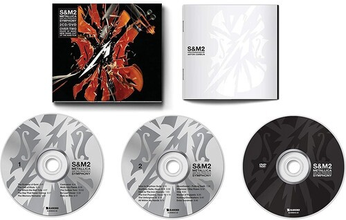 Metallica -  S&M2 2CD / DVD Importados  - Billbox Records