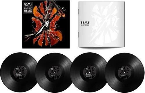 Metallica S&M2  4 Lps Importados  - Billbox Records